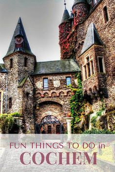 Things to Do in Cochem: Fun Activities On Your Visit - Miss Travelesque : 10 Fun Things to Do in Cochem, Germany Oh The Places You'll Go, Places To Travel, Travel Destinations, Holiday Destinations, Mosel Germany, Stuff To Do, Things To Do, Germany Travel, Visit Germany