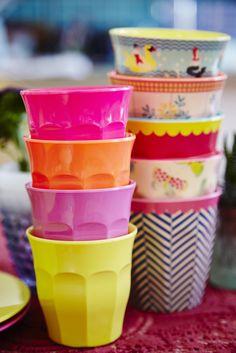 Melamine cups - SS16