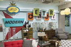Click to shop items in Nebraska Furniture Marts Mid-Century Modern