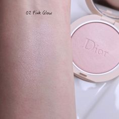 Dior Forever Couture Luminizers & Natural Bronze Powder | Lenallure Dior Forever, Luminizer, Swatch, Powder, Glow, Blush, Bronze, Couture, Natural