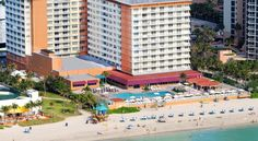 Ramada Plaza Marco Polo Beach Resort Sunny Isles Beach Situated directly on the Atlantic Ocean, this Florida resort boasts 400 feet of private beach and an outdoor pool. The property is also 9.2 km from Downtown Hollywood and 13.3 km from Hard Rock Stadium.