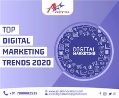 """Good Marketing makes the company look smart. Great marketing makes the customer feel smart"""". Make your business Digital-Ready with A- Star Innovation to thrive in the year 2020.  Visit: www.astarinnovation.com Contact: +91-7800002535  #DigitalMarketer #DigitalMarketingAgency #AStarInnovation #Lucknow #SocialMediaMarketing #LifeofDigitalMarketer #DigitalSkills #DigitalField #SocialMedia #PowerfulTool #AStarInnovation #GoogleListing #VoiceSearch #OnlineReview2020 #VisualSearch #SmartBidding Digital Marketing Trends, Social Media Marketing, Out Of Home Advertising, Different Media, Online Reviews, Influencer Marketing, Innovation, Branding, Make It Yourself"""