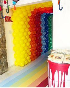 """Fotos: Enrico Bacchi faz 1 ano e ganha festinha com tema """"Aquarela"""". Veja detalhes - 30/07/2018 - UOL Universa Sweet 15, 30, Party, Wanderlust, Home Decor, Birthday Party Ideas, Ideas Party, Kids Art Party, Lyrics"""