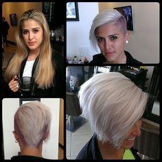 Vorher und nachher: Top-Frisuren! WOW! Vollkommen verändert! ❤ Sieht klasse aus !! ❤