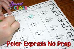 A special kind of class: No Prep Polar Express Math