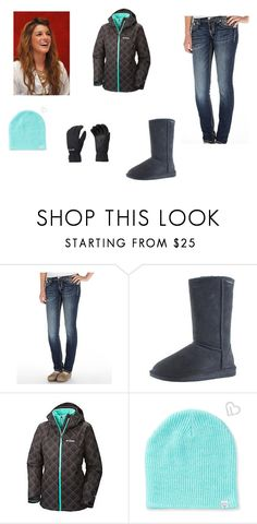 """The Battle"" by jennamae54 ❤ liked on Polyvore featuring Miss Me, Bearpaw, Columbia Sportswear and Aéropostale"