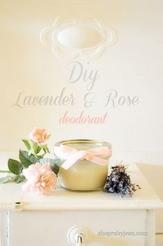 DIY Homemade and safe deodarant recipe:  3Tbs. Coconut Oil,  3Tbs. Baking Soda,  2Tbs. Shea Butter,  2Tbs. Arrowroot and Essential Oils (optional)