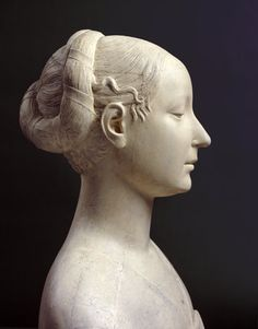 Cast of a bust of Ippolita Maria Sforza, ca. 1473 after Francesco Laurana. The original was destroyed during the Second World War - Royal Academy of Arts, London