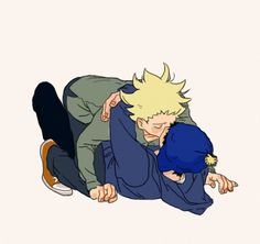 Craig x Tweek ~ kiss