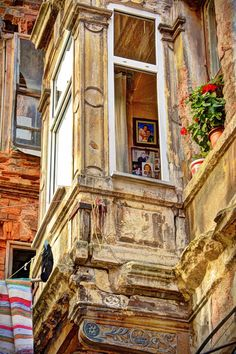 Historical Balat House in Istanbul_Turkey