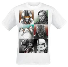 Star Wars The Last Jedi Join Resistance Silhouette Girls Graphic T Shirt