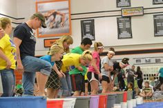 """The Relay for Life """"Fear Factor"""" challenges keep the night fun and entertaining!"""