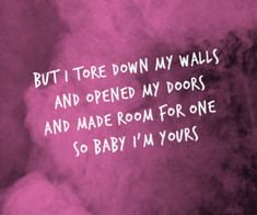 alessia cara lyrics - I'm yours Best Song Lyrics, Best Songs, Music Lyrics, Bible Verses Quotes, Lyric Quotes, Inspirational Music, Quotes To Live By, Deep Quotes, True Quotes