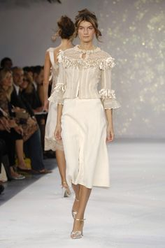 Luisa Beccaria Spring 2006 Runway Pictures - StyleBistro