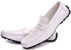 All White Dress Shoes for Men | ... Leather Shoes Men Casual Dress Shoes Loafers White(China (Mainland