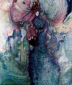 Estela A. Cuadro   A Fantasy Wonderland Of Illustration print pattern inspiration