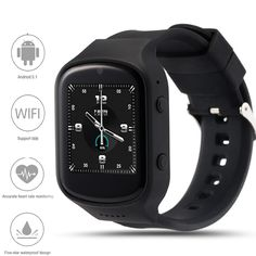 Z80 Smart Watch Android 5.1OS MTK6580 Quad Core Smartwatch With 3G wifi Bluetooth GPS Google Play Store Heart Rate Monitor