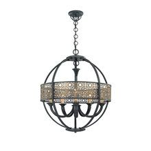 View the Eurofase Lighting 19368 Traditional / Classic 5 Light Arsenal Chandelier from the Classics Collection at LightingDirect.com.