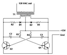 This is a schematic of the Inverter