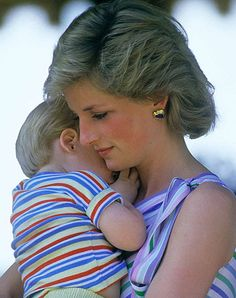 Mother and son ... Lady Diana with Harry - photographer Jason Fraser