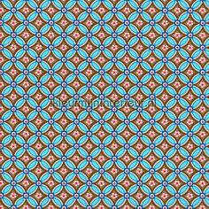 PIP geometric blauw behang 341024, PiP Wallpaper III van Eijffinger