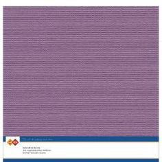 Cardstock - 30x30 cm - Aubergine (lila) - 10st