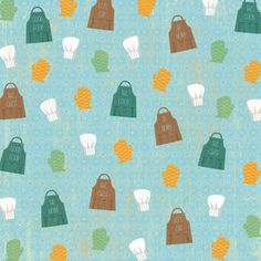 Karen+Foster+Design+-+In+the+Kitchen+Collection+-+12+x+12+Paper+-+Chef+Accessories+at+Scrapbook.com