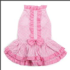 X Small Dog Dress Chihuahua Yorkie Toy Poodle Brussels Dog Ruffle Dress Clothes   eBay