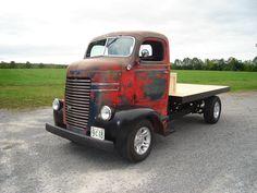 1941 Dodge Coe, Slant 6 automatic.