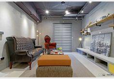 SMART_工業風設計個案—100裝潢網 Conference Room, Table, Furniture, Home Decor, Decoration Home, Room Decor, Tables, Home Furnishings, Home Interior Design