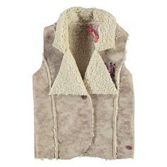 Nono Gilet   Winter collectie 2015   www.kleertjes.com #kinderkleding #babykleding #kids #fashion #fake #fur #trends #nepbont #imitatiebont