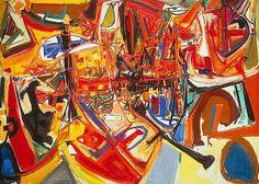 Exposition Art Blog: Canadian abstract art Harold Town