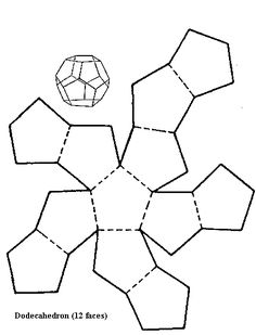 download geometric shape templates | Templates & Paper Folding ...