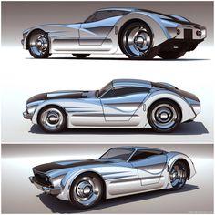 Slick Car Concepts by 600v