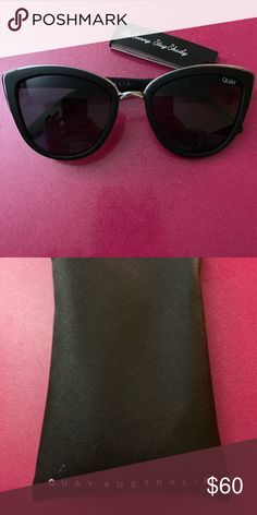 8e64a55bc6 Quay Australia Sunglasses Black sunglasses Quay Australia Accessories  Sunglasses Black Sunglasses