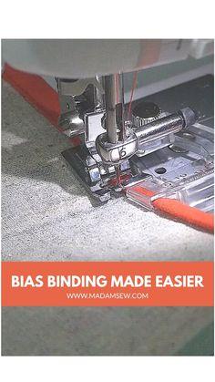 Sewing Basics, Sewing Hacks, Sewing Tutorials, Sewing Crafts, Sewing Ideas, Quilting Tools, Quilting Projects, Sewing Projects, Sewing Binding