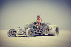 Burning Man mutant vehicle 2017