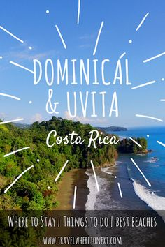 How to plan a trip to the Costa Ballena in Costa Rica. Costa Ballena is made up of Dominical, Uvita and Ojochal. Click through to read about the best hotels, best things to do and more. Tessa Juliette | Travel Where to Next http://travelwheretonext.com