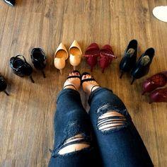 Style Backstage : Santa Lolla y mis zapatos de museo!!