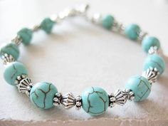 turquoise and silver bracelet  Bracelets for a Cause https://www.linksjewelry.com/Articles.asp?ID=273