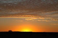 Australian sunset, William Creek
