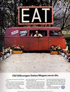 Love love love these vintage ads. The Cadillac one runs a close second to this Volkswagon ad for best ad.