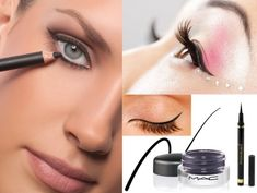 Cat-eye liner makeup