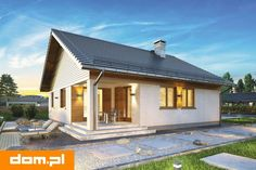 DOM.PL™ - Projekt domu AT Bursztyn IV CE - DOM AI4-24 - gotowy koszt budowy Outdoor Decor, Case, Home Decor, Decoration Home, Room Decor, Home Interior Design, Home Decoration, Interior Design
