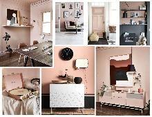 Pink Interiors Mood Boards, Interiors, Pink, Furniture, Design, Home Decor, Decoration Home, Room Decor