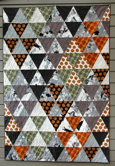 Quilt it 60 degree.... Love the greys
