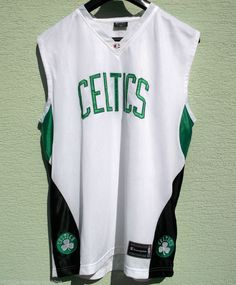 f351ebe21 NBA Boston CELTICS Basketball Jersey Vest by Champion XL Rare Embroided  Logos