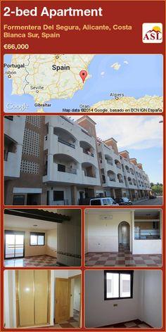 2-bed Apartment in Formentera Del Segura, Alicante, Costa Blanca Sur, Spain ►€66,000 #PropertyForSaleInSpain