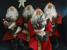 Another busy week, I finished 4 of my Father Christmas. Unfortunately 2 of them I don't get to keep. They were for orders. I am hoping to ge...