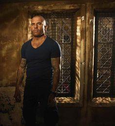 """Después de ocho años, vuelve """"Prison Break"""" con su quinta temporada  Dominic Purcell"""